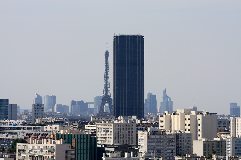 the montparnasse tower. Black Bedroom Furniture Sets. Home Design Ideas